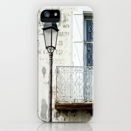 Old Town Antibes Ambiance iPhone Case