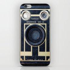 Vintage Brownie Camera iPhone & iPod Skin