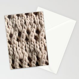 Chunky Knit in Natural iPhone Cover Stationery Cards