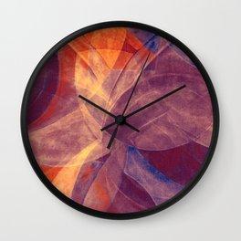 Circular Deconstruction VII Wall Clock