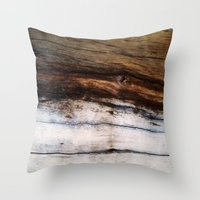 moby dick Throw Pillows featuring Moby Dick by RichCaspian