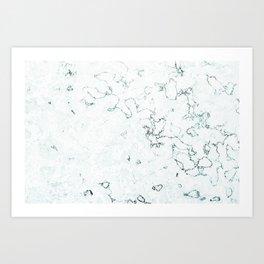 Marble Elegance Art Print