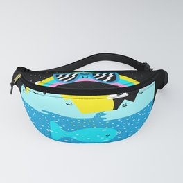 Rainbow Space World Fanny Pack