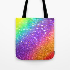 Partytime Rainbow Tote Bag