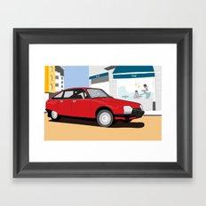 GS Framed Art Print