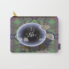 MANDALA OF PLACE AND ECONOMY Carry-All Pouch