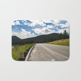 Montana Back Roads Bath Mat