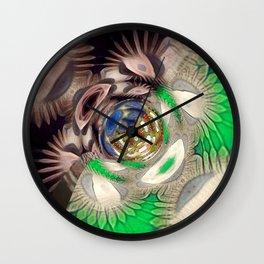 Mix of Mutated Patterns Wall Clock