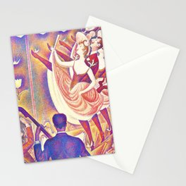 Georges Seurat - The Rumpus - Digital Remastered Edition Stationery Cards