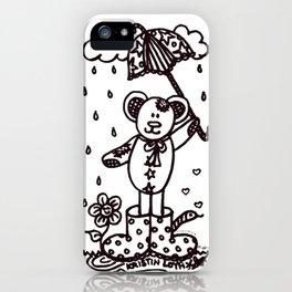 Umbrella Bear! iPhone Case