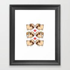 Puglie Pride Framed Art Print