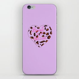 BeautyIsAReligion `Leopard Heart` iPhone Skin