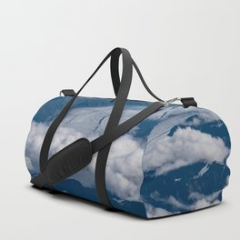 Aerial Glacier Two - Alaska Duffle Bag