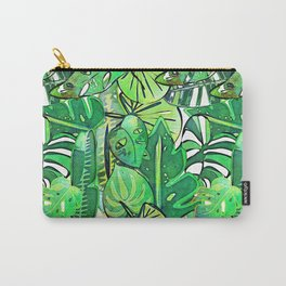 Bohemian Jungle Carry-All Pouch