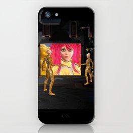 Sci-Fi Martians Alien Princess  iPhone Case