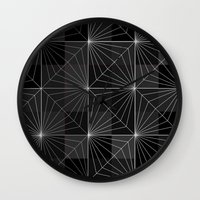 diamond Wall Clocks featuring Diamond by Dood_L