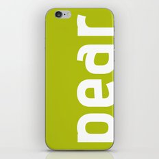 Colors - Pear iPhone & iPod Skin