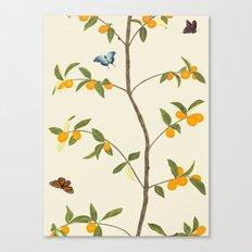 Jenny Chinoiserie Kumquat Canvas Print