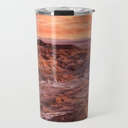 Desert orange Travel Mug