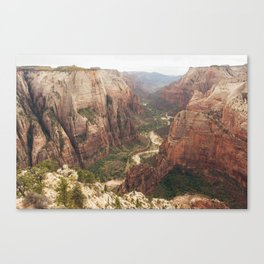Observation Point Zion Canvas Print