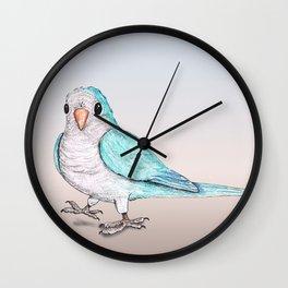 Perky parrot Wall Clock