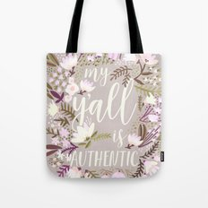 My Y'all is Authentic – Spring Palette Tote Bag