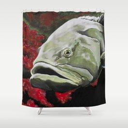 grouper Shower Curtain
