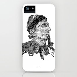 Jacques Cousteau iPhone Case
