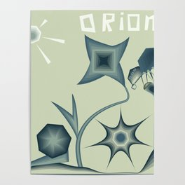 "Illustration poster ""Orion"" Poster"