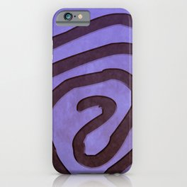 Tribal Maps - Magical Mazes #04 iPhone Case