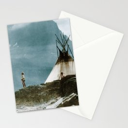 Echoes Call - American Indian Camp Stationery Cards