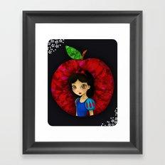 Ruby. Framed Art Print