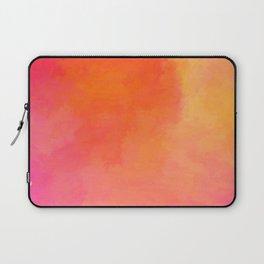 Texture orange kisses pink Laptop Sleeve
