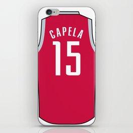 Clint Capela Jersey iPhone Skin