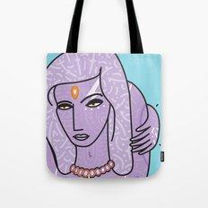 Purple Sunshine Tote Bag