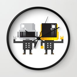 LEGENDARY ELECTRO DUO Wall Clock