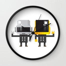 LEGENDARY ELECTRO DUO Wall Clock