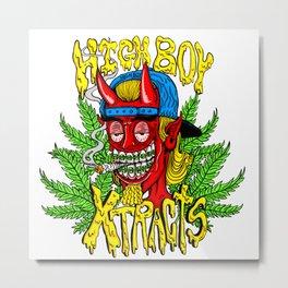 Highboy Extracts logo Metal Print