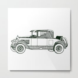Vintage Vehicle Metal Print