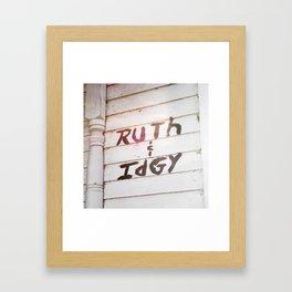 Ruth and Idgie Framed Art Print