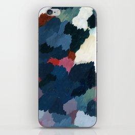 Abstract meditation forest 1 iPhone Skin