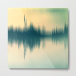 Sound and color Metal Print