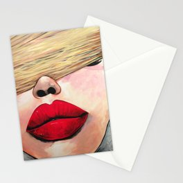 Put Some Red Lipstick On Stationery Cards