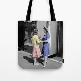 Fifties Girls Tote Bag