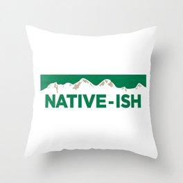 Native-ish Throw Pillow