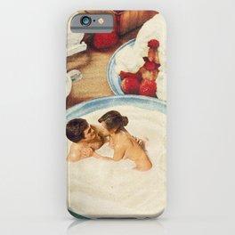 Fruity - Strawberries & Cream iPhone Case