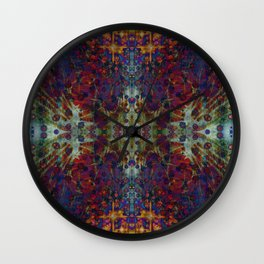 Andromeda geometry III Wall Clock