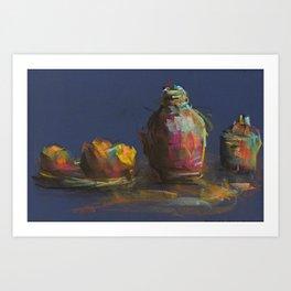 Vibrant Composition Art Print