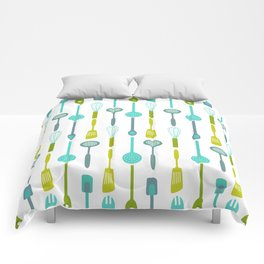 AFE Kitchen Utensils Pattern Comforters