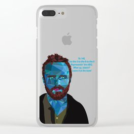 Jesse Pinkman quote Clear iPhone Case